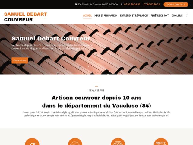 Samuel DEBART Couvreur