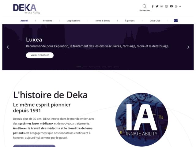 Lésions pigmentaires - DEKA