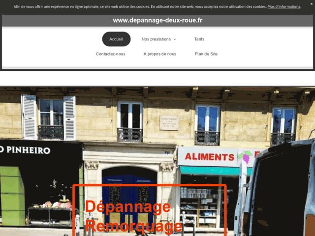 Remorquage moto Paris - Dépannage Deux Roues