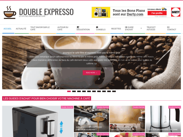 Double Expresso le site des amateurs de café