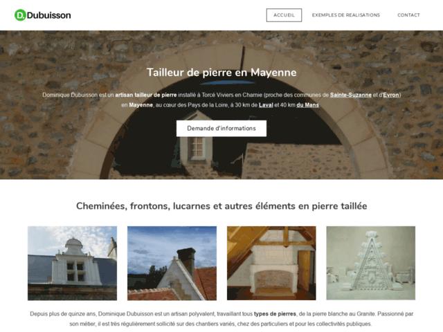 Dubuisson Tailleur de Pierre en Mayenne