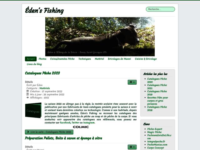 Eden is Fishing Easy