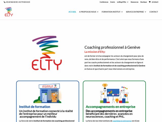 Accompagnateur du changement - Elty Coaching