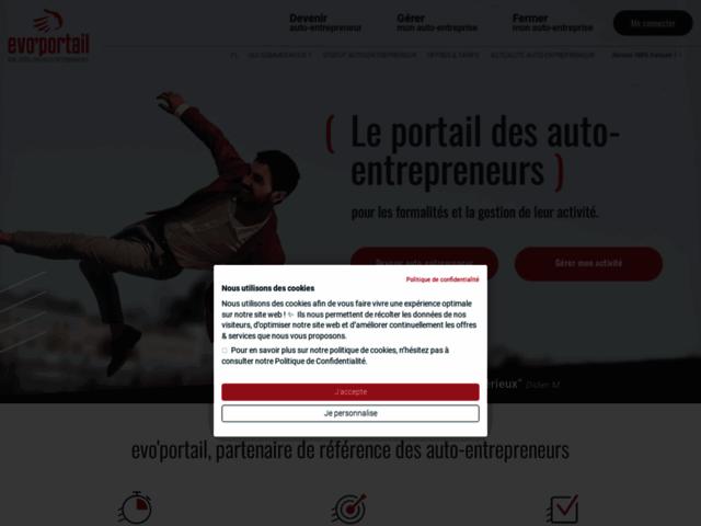 Le portail auto entrepreneur