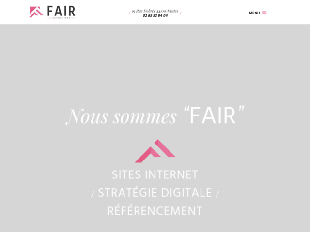 Agence Fair : une agence web à Nantes proche de vous !