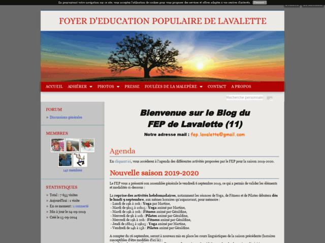 Foyer d'Education Populaire de Lavalette