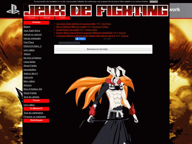 Jeux de fighting