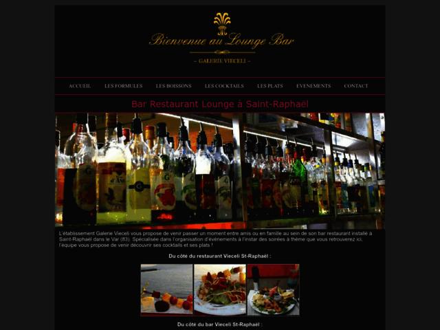 Bar restaurant Galerie Vieceli