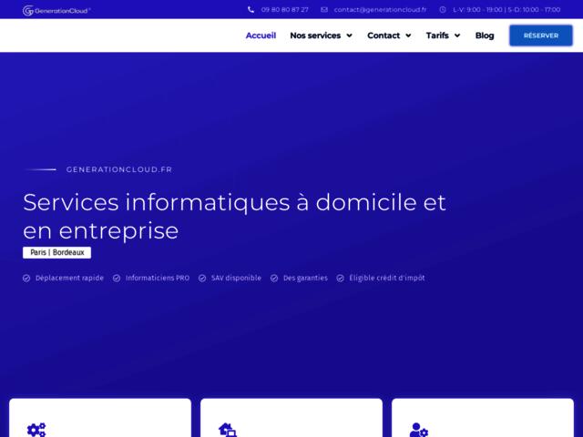 Generationcloud.fr: une ESN moderne et locale.