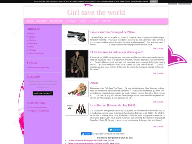 Girlsavetheworld