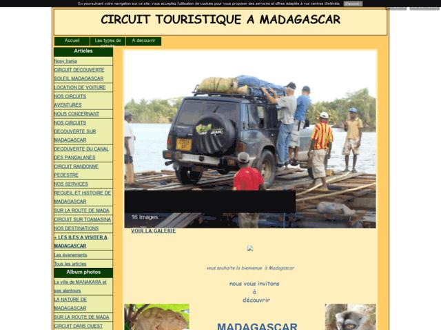 Vacances à Madagascar