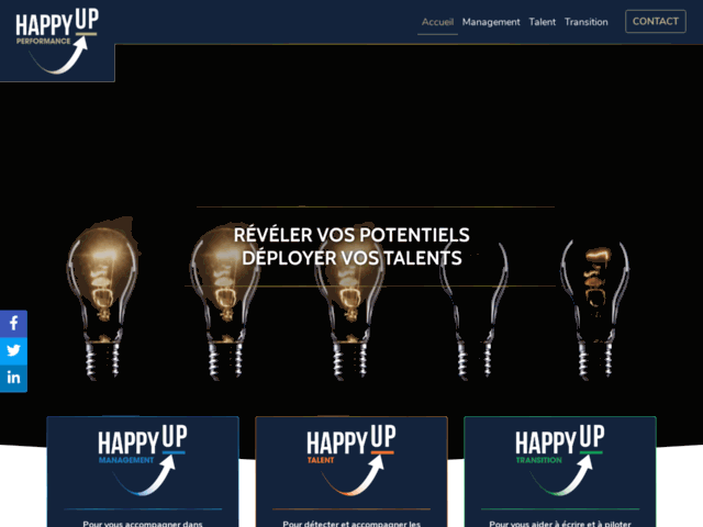 Happy-Up Performance, Coaching de Carrière
