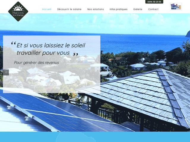 Photovoltaique Martinique - Hélios Eco Energy