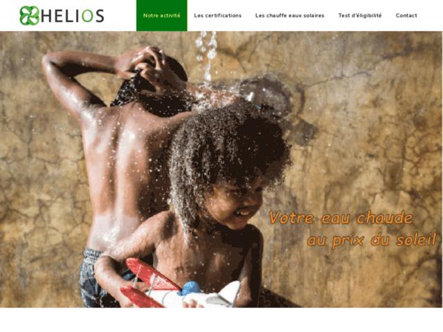 Eau chaude solaire Martinique - HELIOS