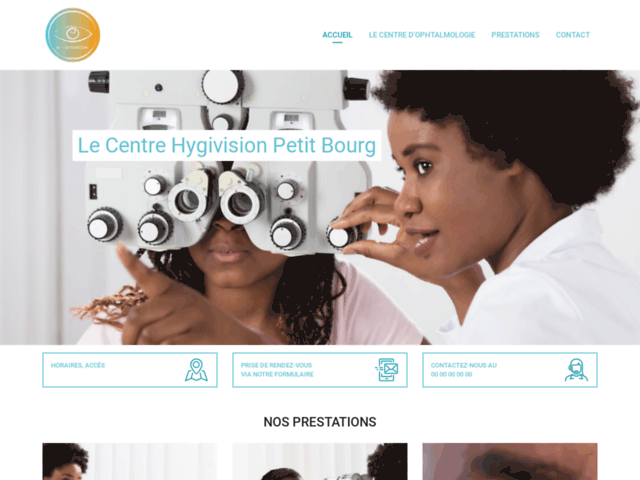Rdv en ligne ophtalmologue Guadeloupe - Hygivision