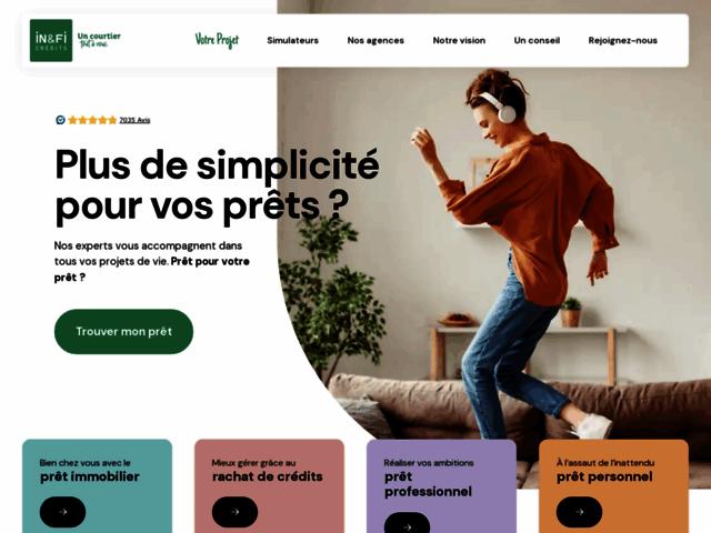 In&Fi Crédits, le spécialiste en crédit immobilier