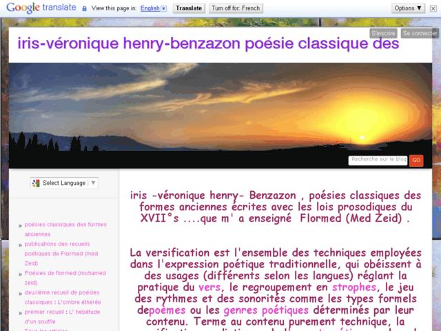 iris-véronique benzazon