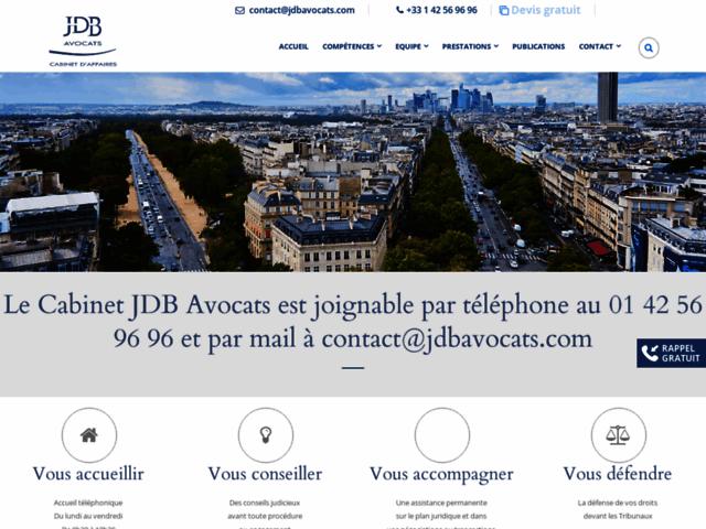Cabinet avocat à Paris