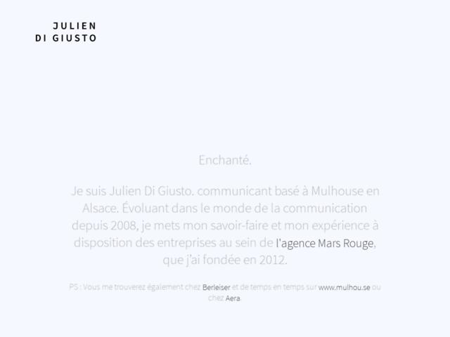Julien Di Giusto