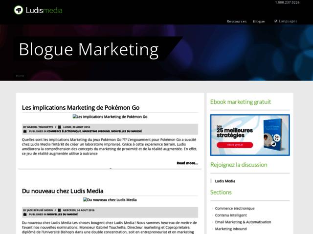 Marketing Web Ludis Média