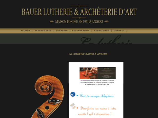 Lutherie Bauer (Angers)