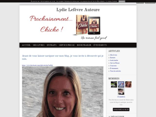 Lydie Lefèvre auteur