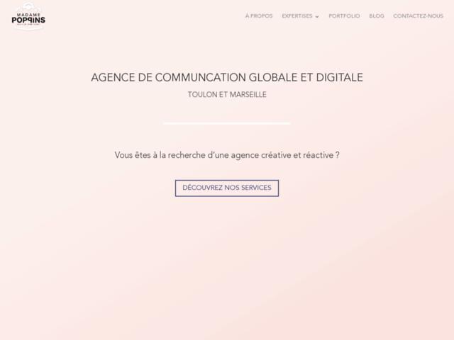Création de site vitrine et community management à Marseille et Toulon
