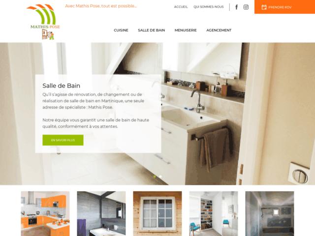 Rénovation salle de bain Martinique - Mathis Pose