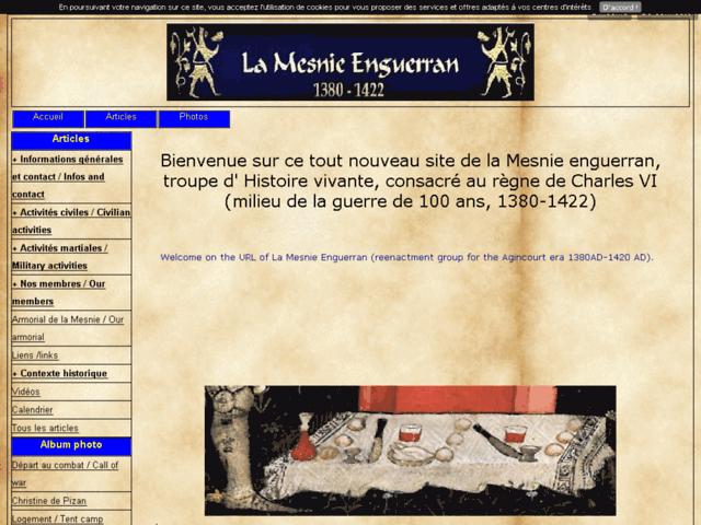 La Mesnie Enguerran 1380-1422