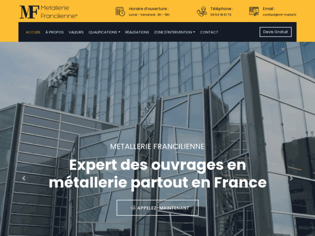 Métallerie Francilienne