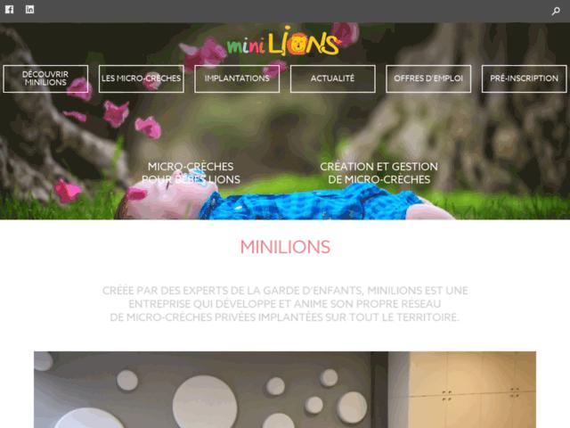 Minilions – tarif micro creche
