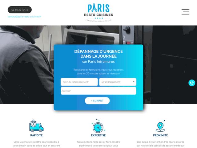 Paris resto cuisines