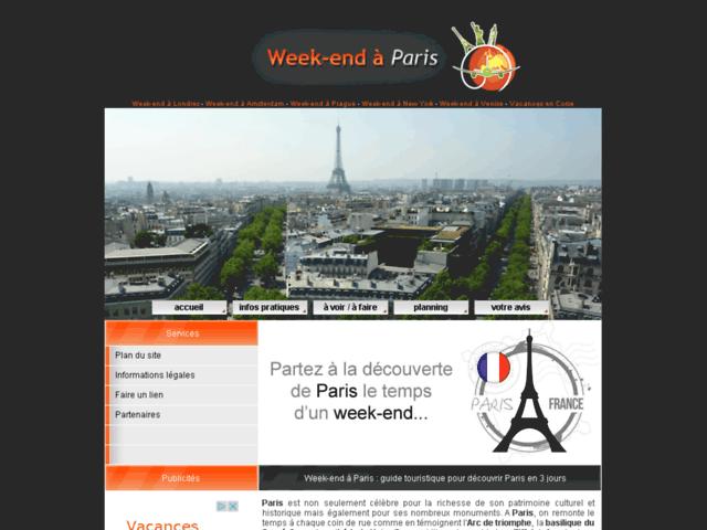 Week-end à Paris : guide touristique pour découvrir Paris en 3 jours