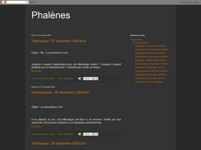 Phalènes