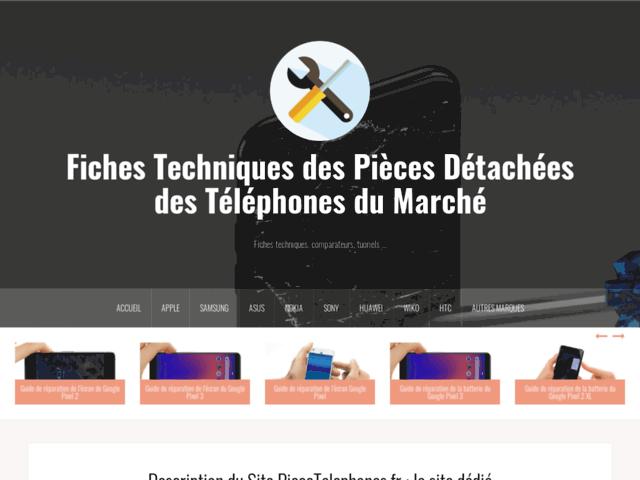 Pièce Téléphones, le site du bricoleur High Tech