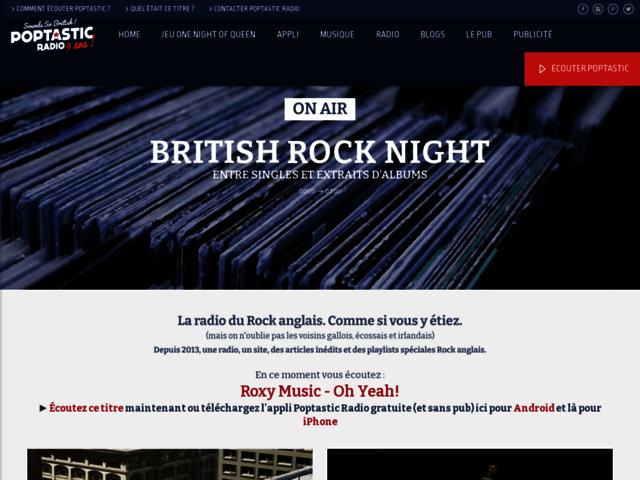 Poptastic : Web radio dédiée à la musique pop anglaise