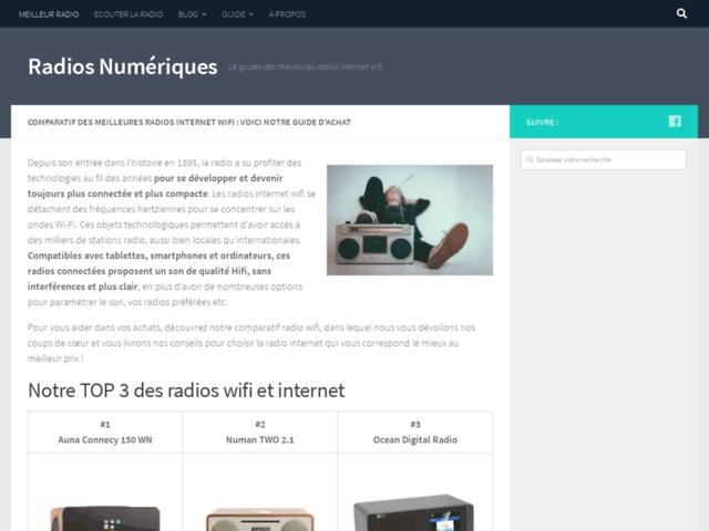Le meilleur guide pour choisir votre radio numérique internet wifi
