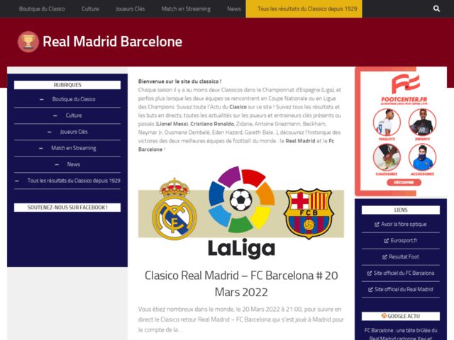 Real Madrid Barcelone