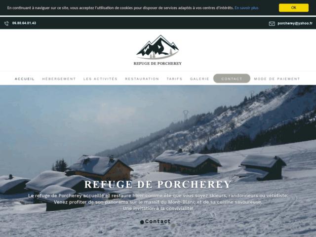Gîtes de montagne Saint-Gervais-les-Bains