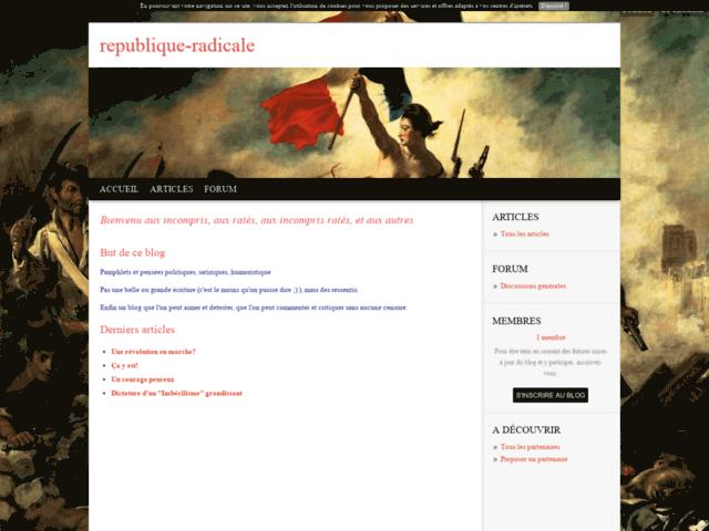 République Radicale