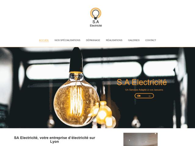 Entreprise electricité Lyon : SA Electricité