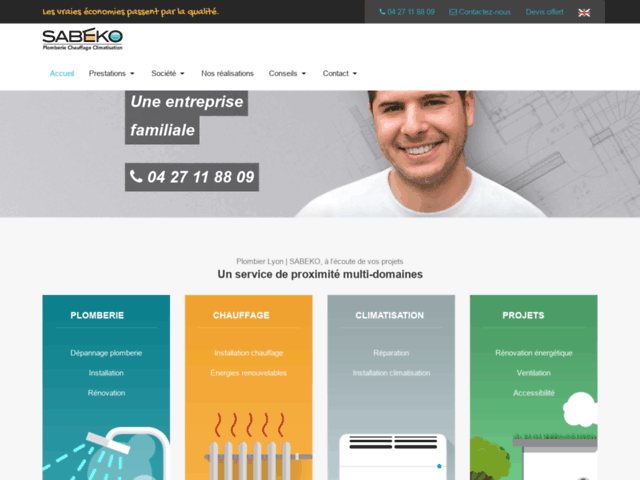 SABEKO, accompagnement aux projets plomberie et chauffage