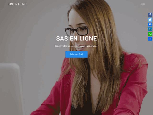 Créer sa SAS en ligne