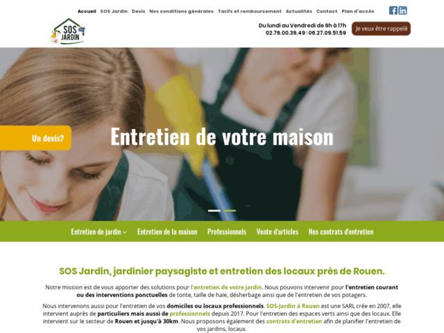 SOS-Jardin - Jardinier Paysagiste à Rouen