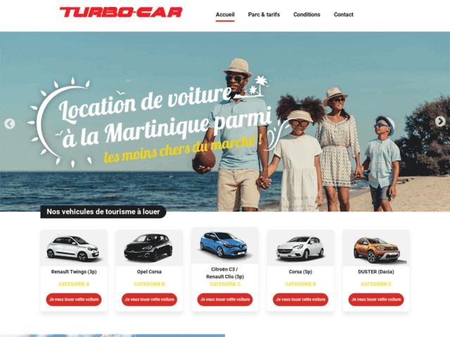 Location de voiture pas cher Martinique - Turbo car