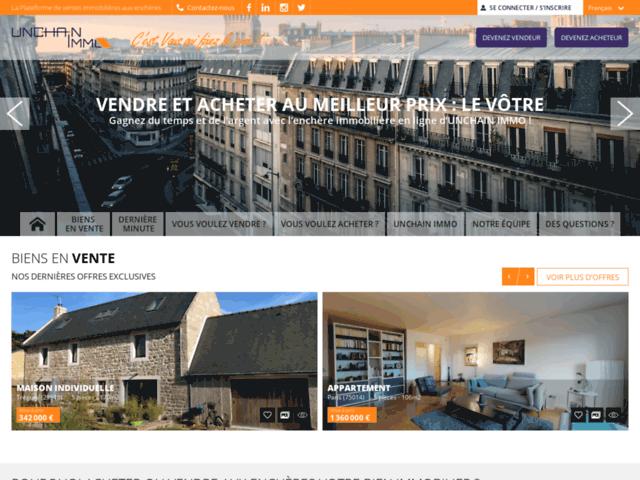Ventes aux enchères digitale de biens immobiliers sur Marseille et Paris