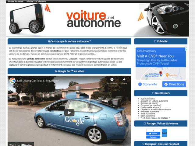 Automobile autonome