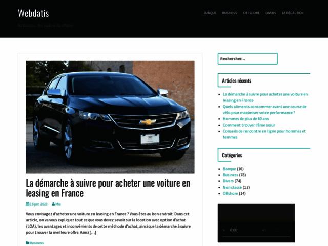 Webdatis, agence de référencement et création sites