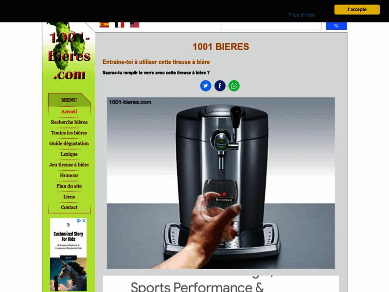 Simulation de tireuse à bières