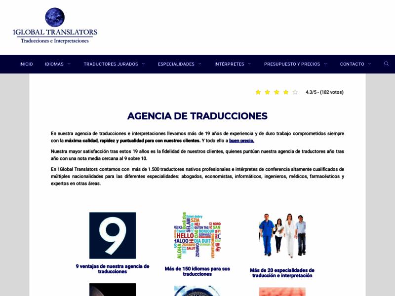 Traductions espanol